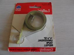 """VINTAGE LUFKIN 1/2"""" X 12' UNIVERSAL TAPE REFILL~NO. RY212~CO"""
