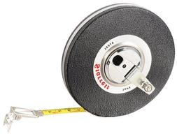 Starrett 530-30CM Vinyl/Steel Case Black Closed Reel Steel L